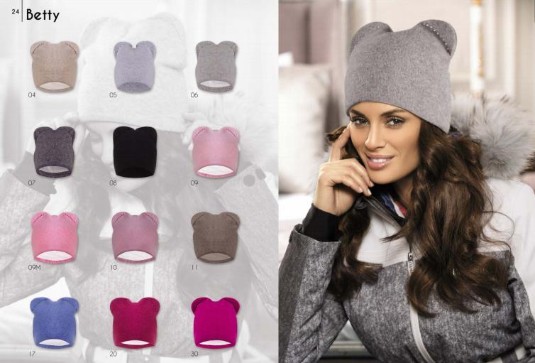 Dámská čepice KA-BET - doplňky čepice, rukavice a šály