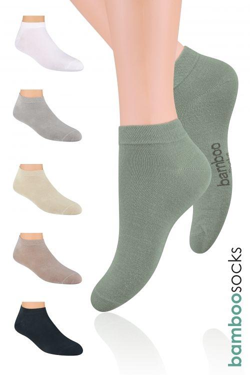 6945586217e Kotníkové ponožky Steven Natural art.094 - Dámské oblečení doplňky ...