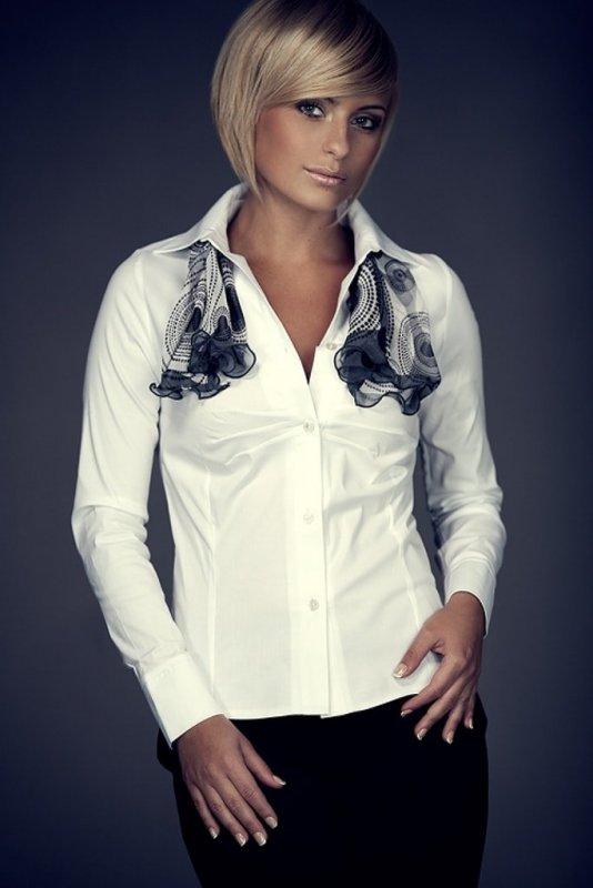 Dámská košile Figl M021 - Dámské oblečení košile a halenky