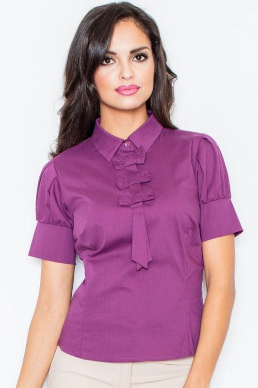 Dámská halenka M008 - Figl - Dámské oblečení košile a halenky