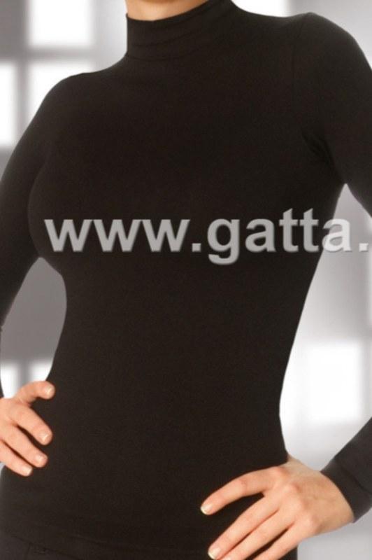 Halenka - polorolák - GATTA BODYWEAR. Halenka - polorolák - GATTA BODYWEAR  - Dámské oblečení košile ... 8278ab6494