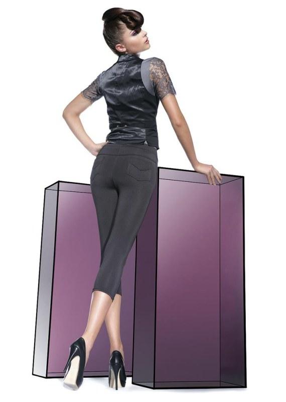 Legíny Sandra short - Bas Bleu - Dámské oblečení legíny