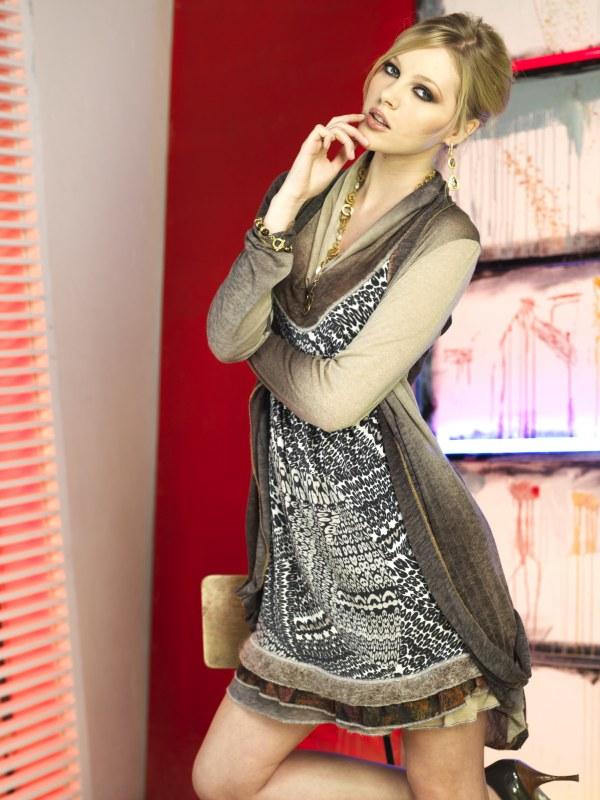 Dámské šaty R3400 - Roberto Naldi - Dámské oblečení šaty