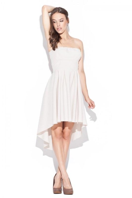 Dámské šaty K031 beige - Dámské oblečení šaty