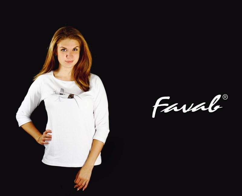 Dámské triko Alenka - Favab - Dámské oblečení trika