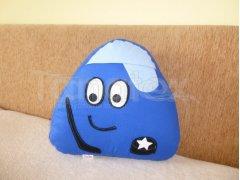 Polštářek Bavlněný malý pou - komeťák z brna