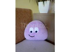 Polštářek Mikro mini pou - fialový