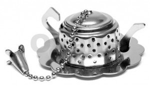 čajové příslušenství, sítko na čaj, podčajník, kalabasa, kávomlýnek, moka kávovar