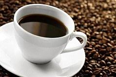 šálek kávy, pití kafe
