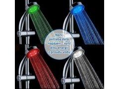Barevná svítící LED sprcha 3