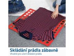 Deska na rychloskládání oblečení Červená 2