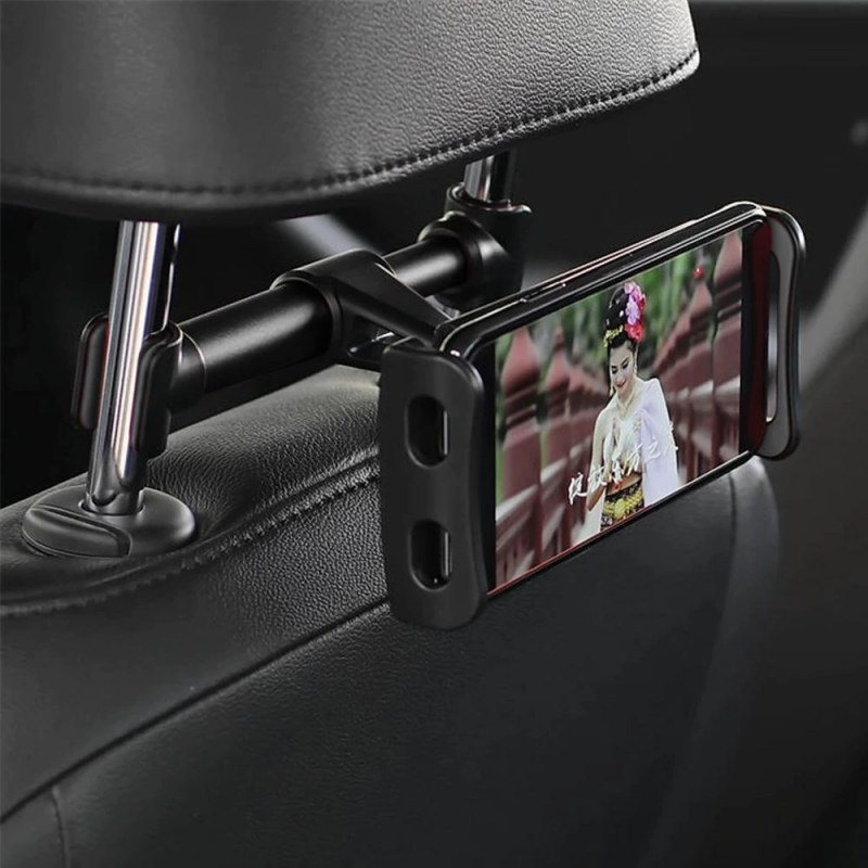 Držák mobilu/tabletu na opěrku sedadla