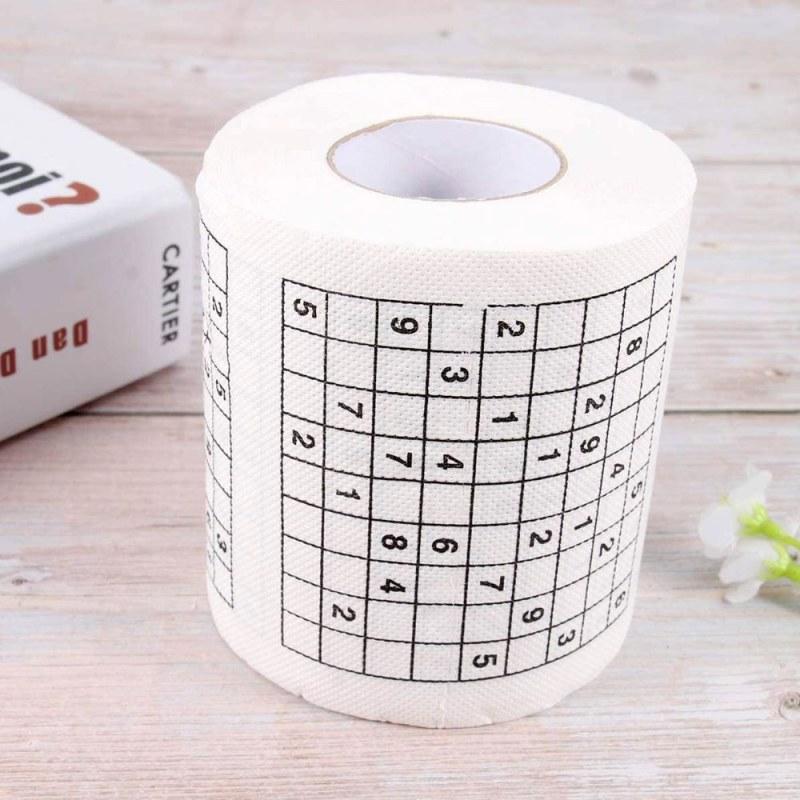 Toaletní papír – Sudoku - Dárky