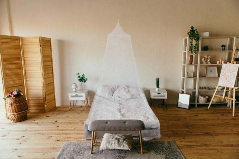 Luxusní baldachýn - postelová nebesa