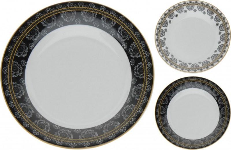 Porcelánový talíř se vzorem malý - 20 cm