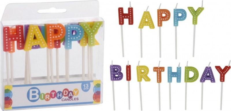 Skvělý set narozeninových svíček