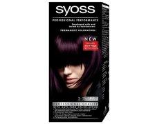 Syoss barva 3-3 tmavě fialový