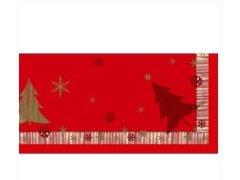 Ubrus 84x84 DCEL Winterly Red neomyvat