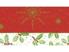 Ubrus 84x84 Classic Christmas neomyv