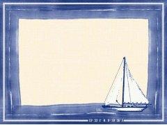 Prostírání 30x40 DCel Sailing 100ks