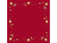 Ubrus 84x84 DSilk Walk of Fame Red omyv