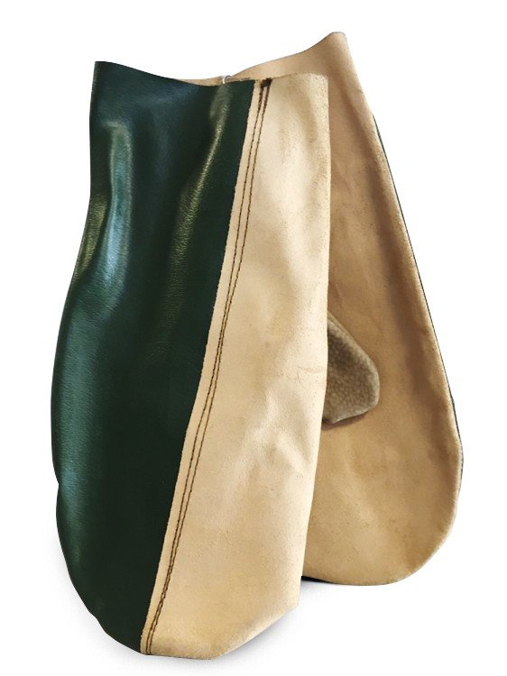 Rukavice palcové,kožené velektrický 34