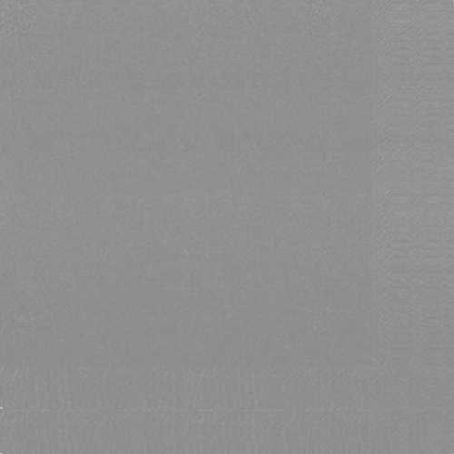 Ubrousek 33x33 2V šedý 125ks