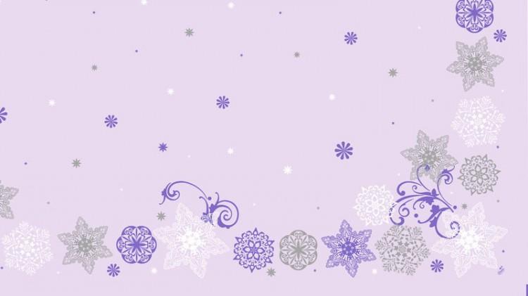 Ubrus 84x84 JUL Kristal Lilac Dcel neomy