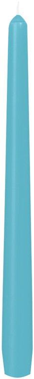 Svíčka 25cm mentolově modrá