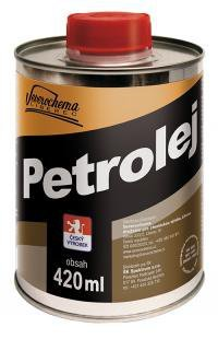 Petrolej 420ml plech