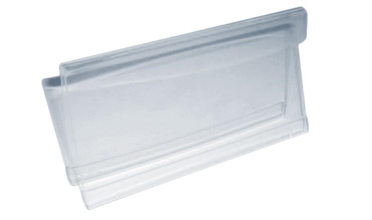 Reklamní stojánek 2 drážky 16x9cm