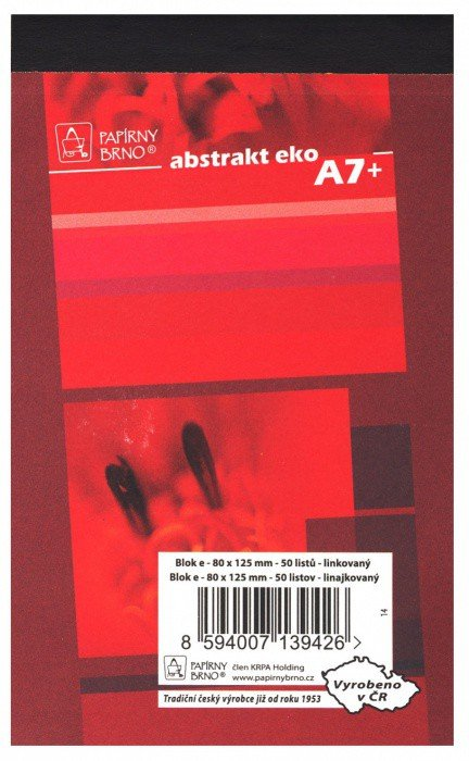 Blok A7- 50 listů