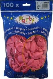 Nafukovací balonky červené 100ks 53001