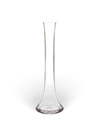 Váza sklo vysoká 30cm,uzké hrdlo