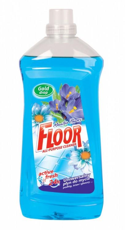 FLOOR univerzální antibakteriální 1,5l modrý
