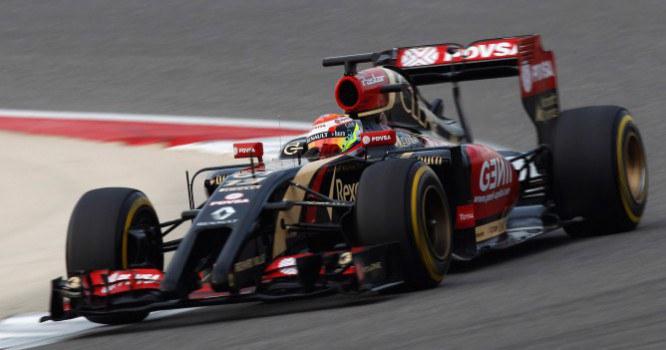 LOTUS F1, Grosjean, Maldonado