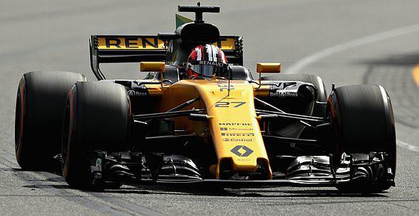 Renault LOTUS F1, Hülkenberg, Palmer