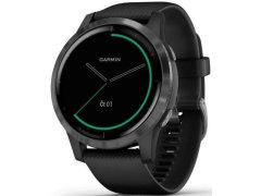 Garmin VívoActive4 Gray/Black Band - SLEVA