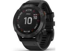 Garmin Fenix 6 PRO Black/Black Band (MAP/MUSIC) 010-02158-91