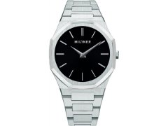 Millner Oxford Silver Black 40 mm