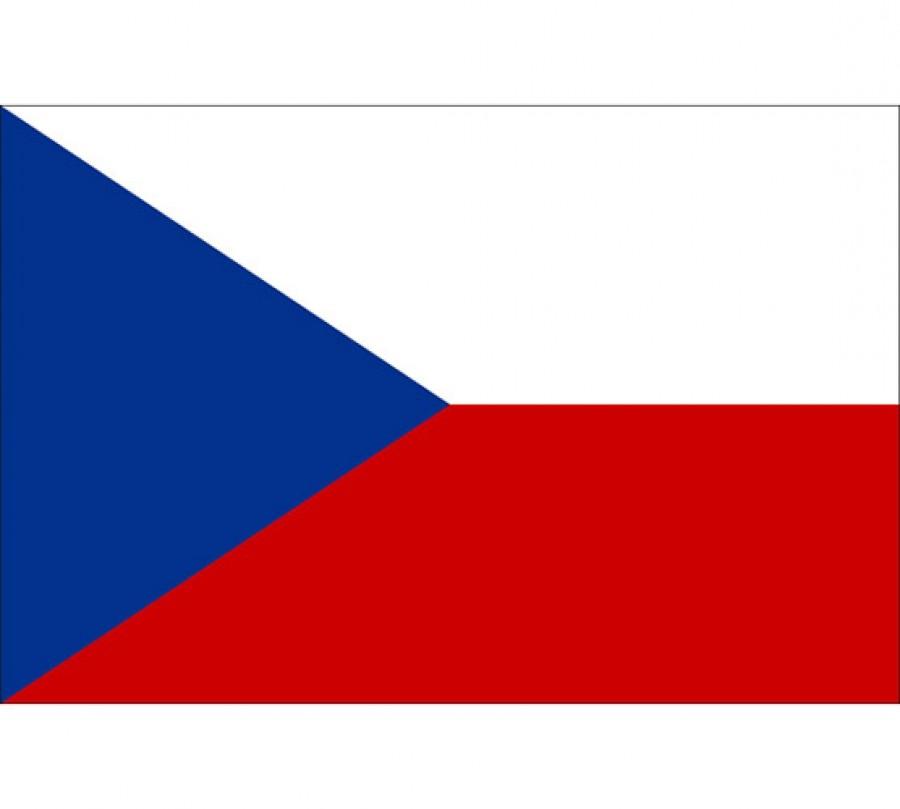 Vlajka Velká - Česká Republika