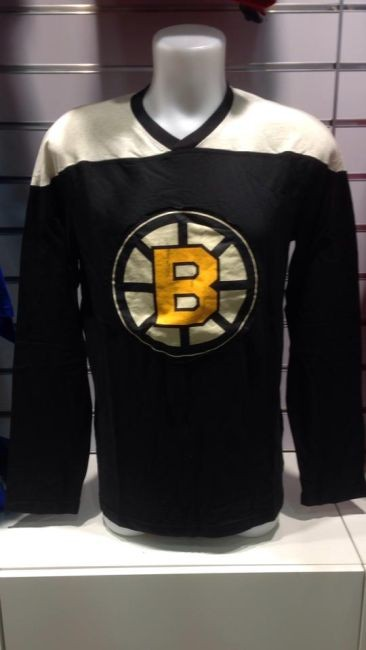 b34d022d15f8 Tričko Long Sleeve Crew 15 Bruins - Boston Bruins Trička • SHOPiq.cz
