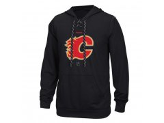 Mikina Center Ice TNT Logo Reflect Performance Hoodie - Black Flames