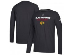 Tričko Authentic Ice Climalite Ultimate L/S Blackhawks