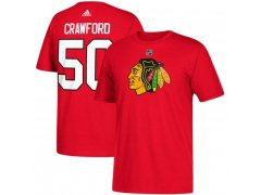 Tričko 50 Corey Crawford Blackhawks
