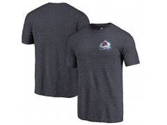 Tričko Primary Logo Left Chest Distressed Tri-Blend Avalanche