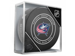 Puk Official Game Puck Blue Jackets