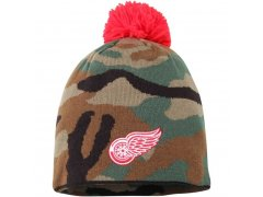 Kulich Reebok Camo Cuffless Knit Beanie With Pom Wings