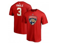 Tričko 3 Keith Yandle Stack Logo Name & Number Panthers