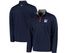 Mikina Center Ice Quarter-Zip Baselayer Rangers